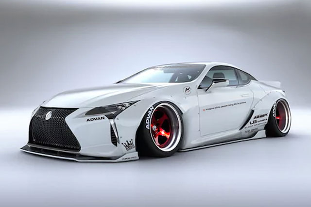 Liberty Walk Lexus LC 500 Redefines 'Wide'