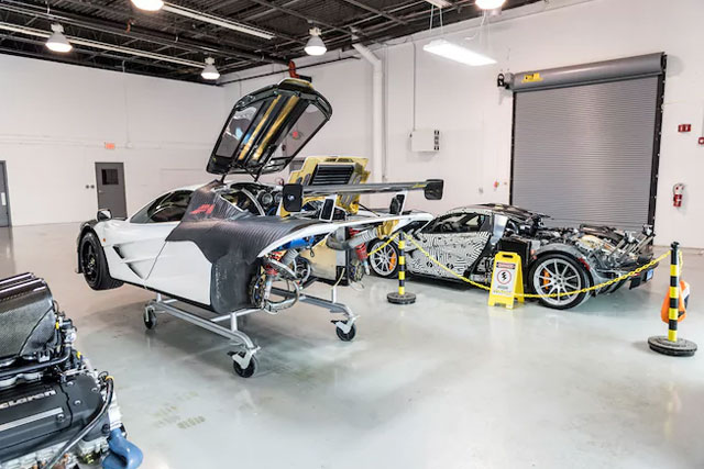 McLaren F1 Service Center Opens in Pennsylvania